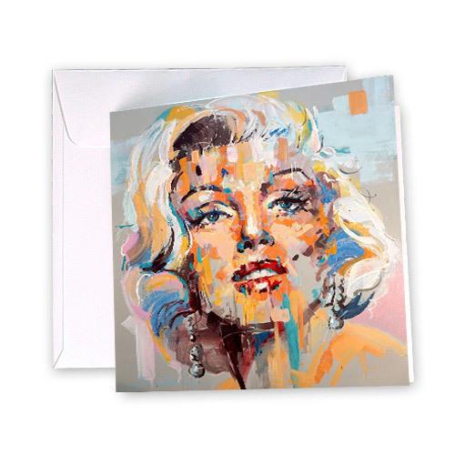 Marilyn Monroe Greeting Card | Trada Marketplace