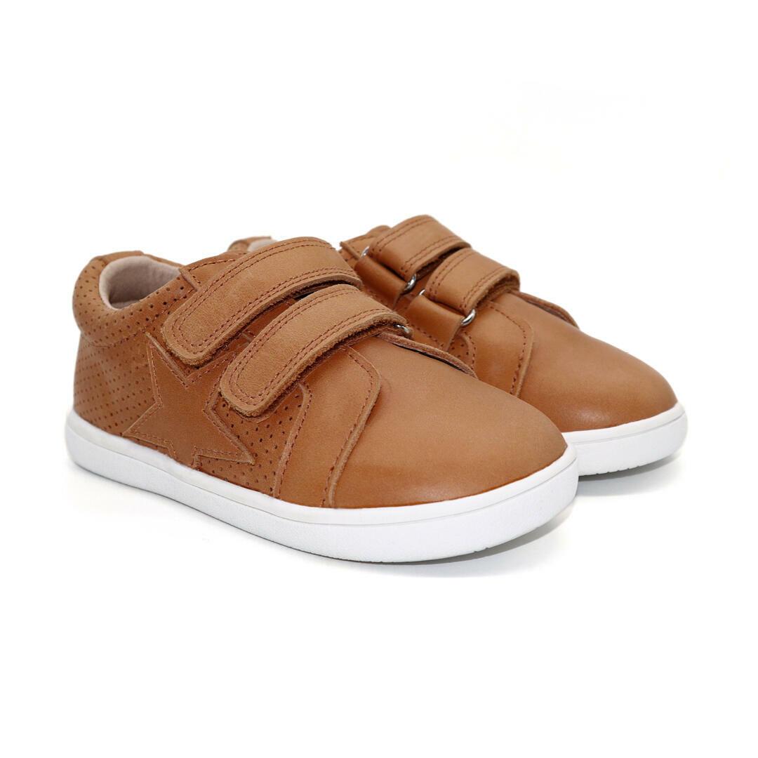 Lonnie Child Sneaker - Tan | Trada Marketplace