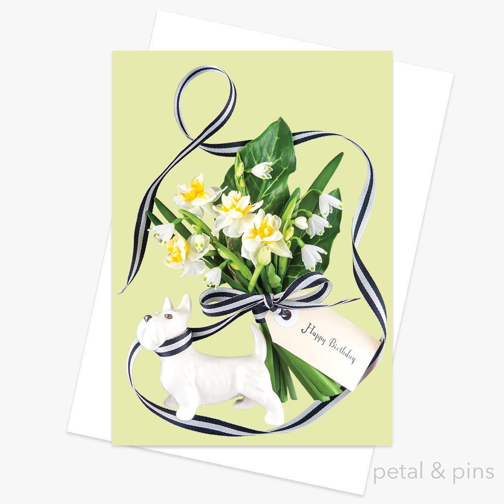 special delivery birthday bouquet greeting card | Trada Marketplace