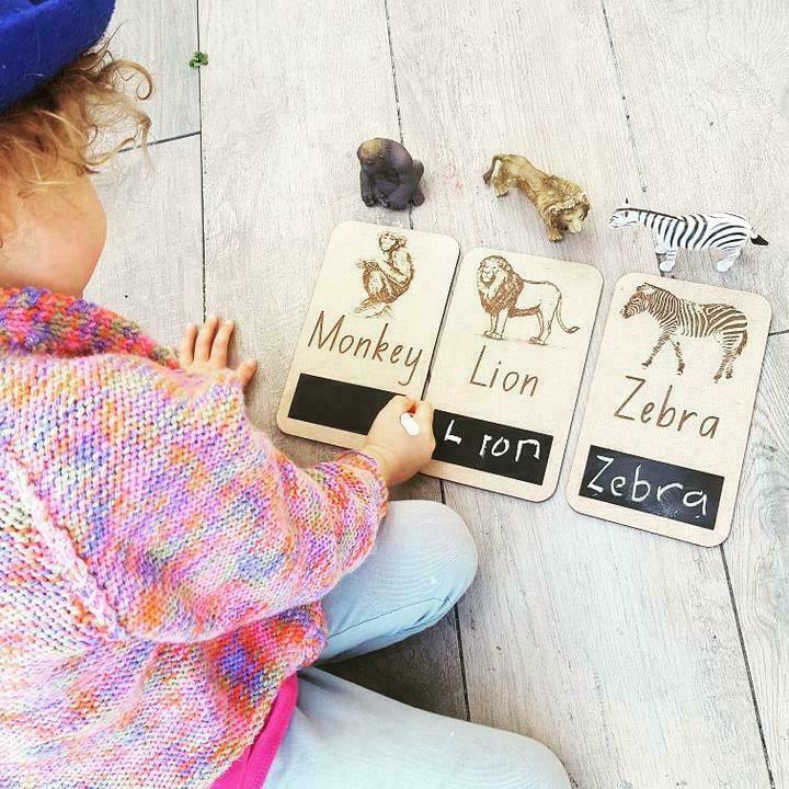 ZOO ANIMAL FLASH CARDS   Trada Marketplace