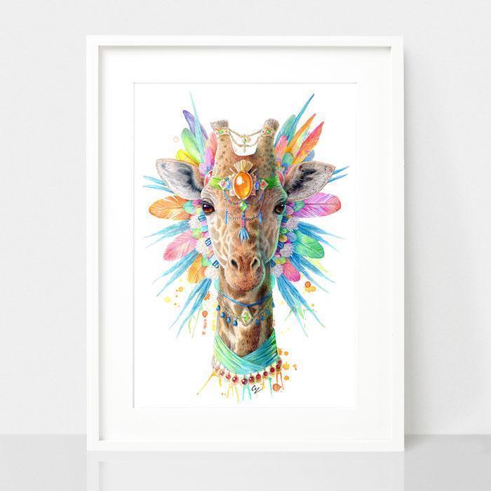 Giraffe Print - Spirit Animal Series | Trada Marketplace