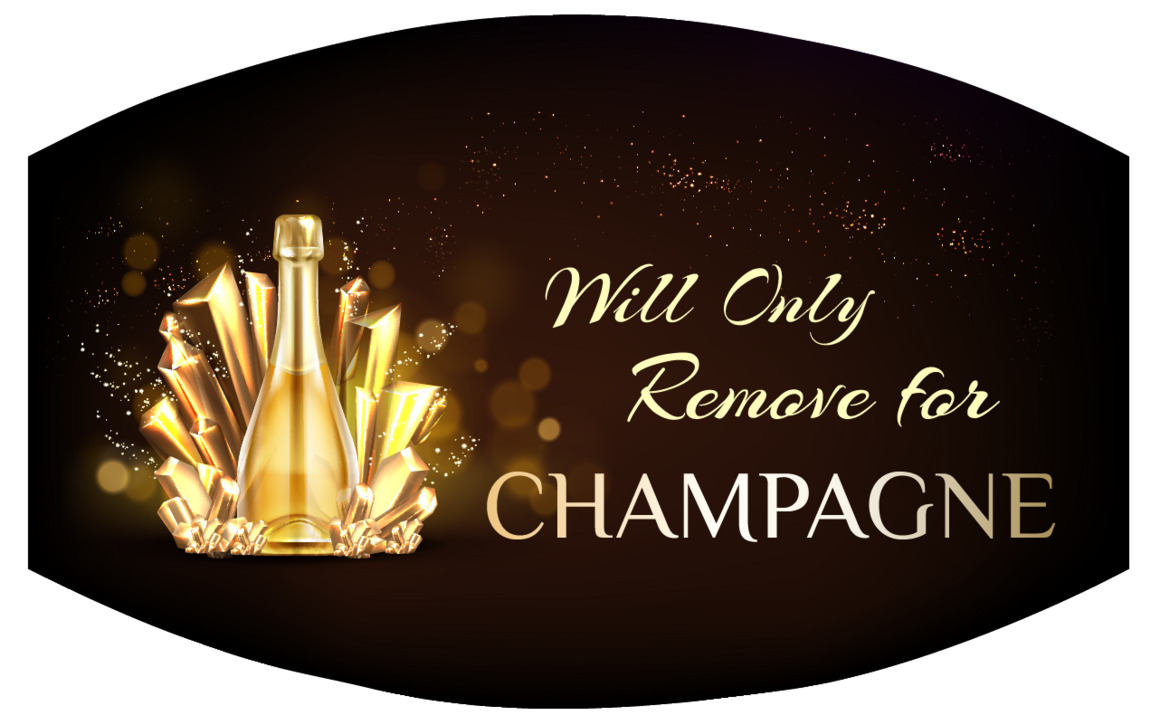 Will Only Remove For Champagne Face Mask | Trada Marketplace
