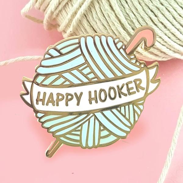 Happy Hooker Crochet Ball    Trada Marketplace