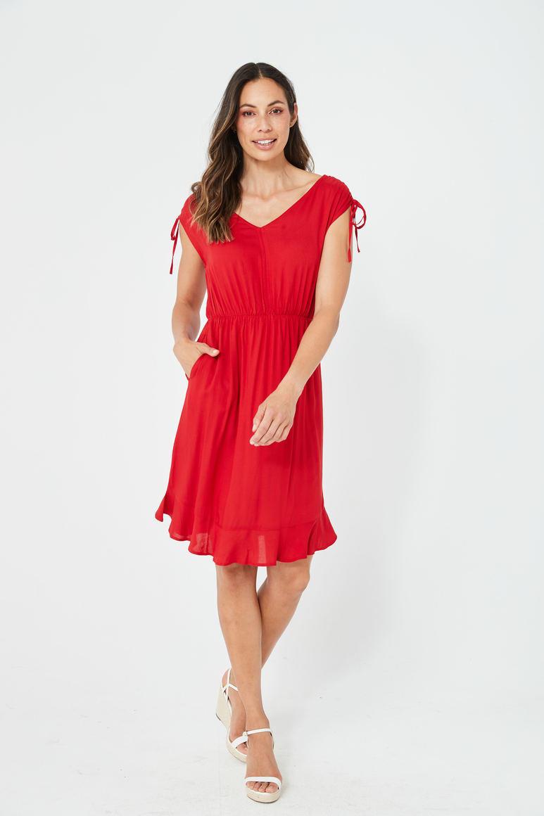 BOBBI Dress | Red | Trada Marketplace