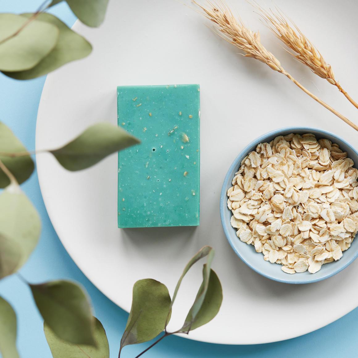Tea Tree, Eucalyptus & Green Clay Natural Handmade Soap | Trada Marketplace