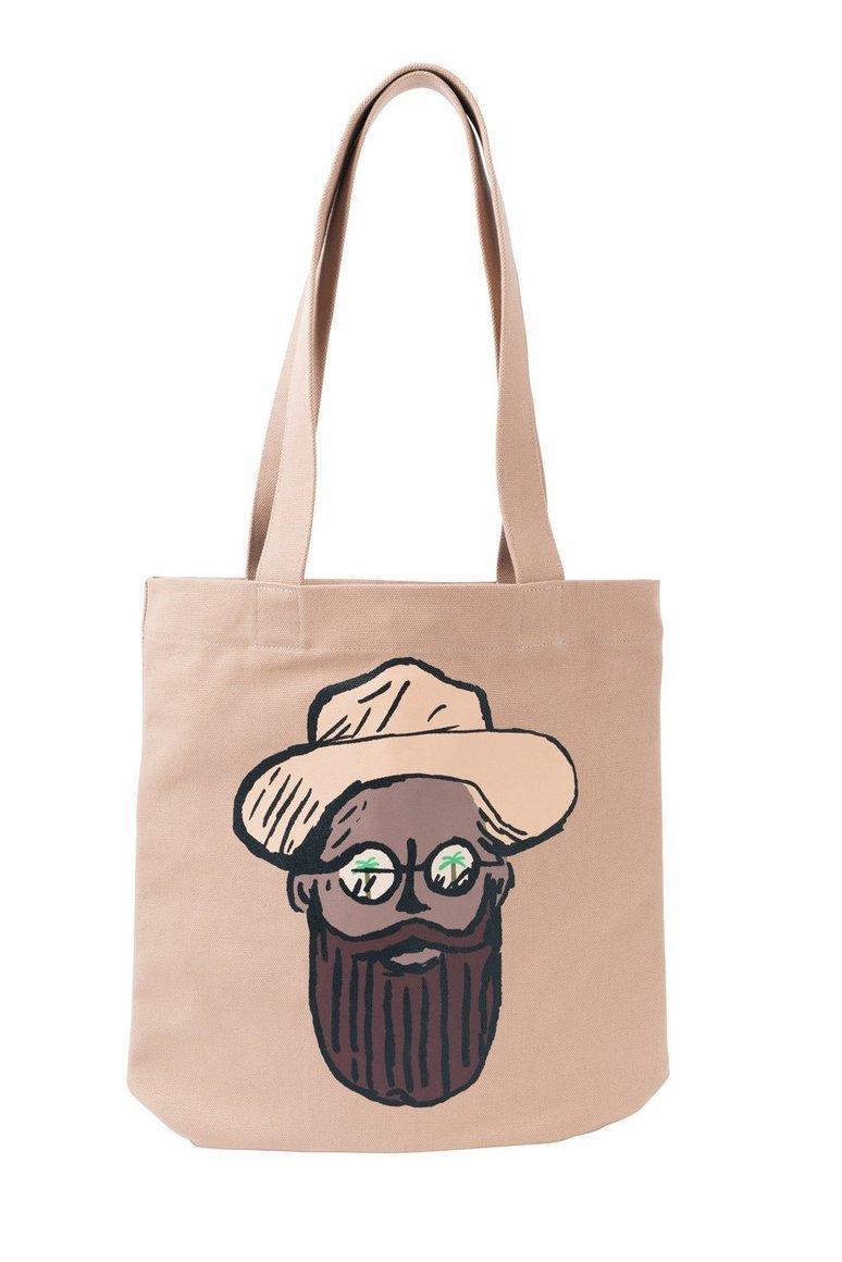 Bearded Guy Tote Bag | Trada Marketplace