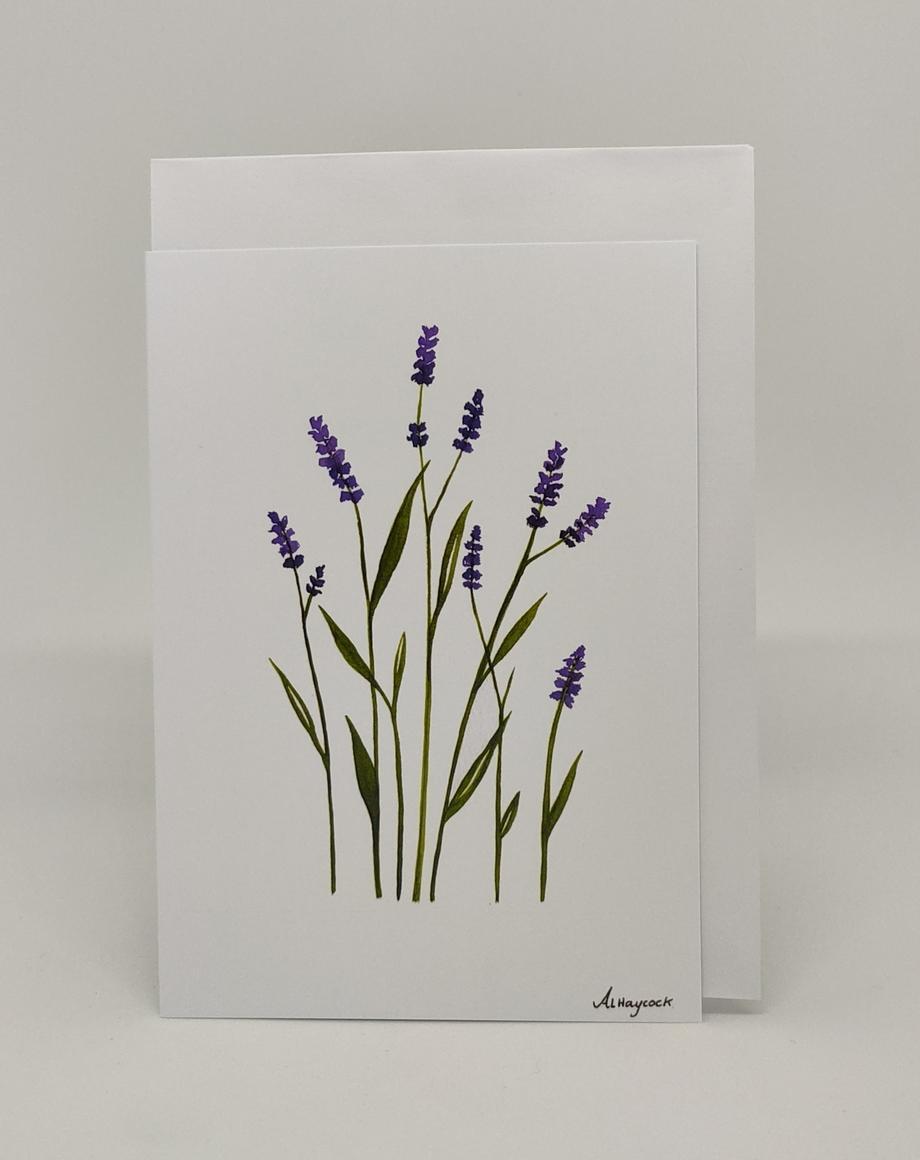 Lavender Card | Trada Marketplace