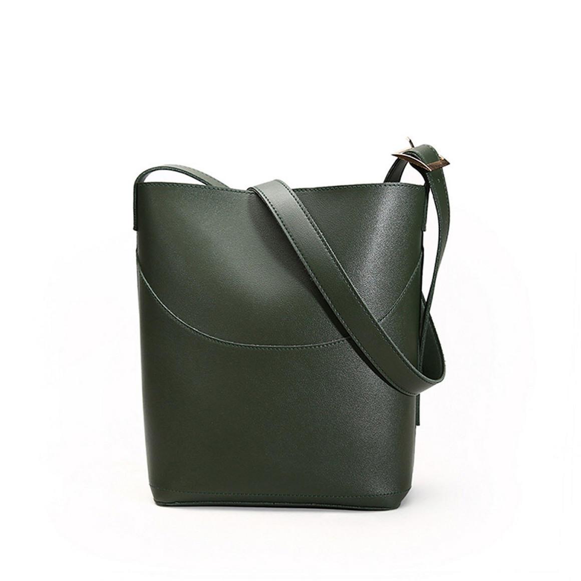 THSB1014: Olive:  Eva Bucket Tote Bag | Trada Marketplace