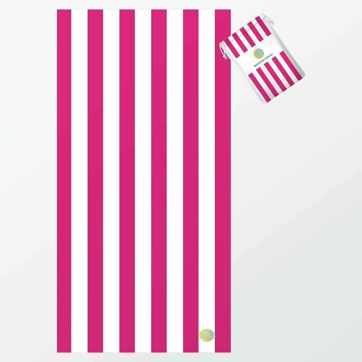 RC Stripes - Fuchsia   Trada Marketplace