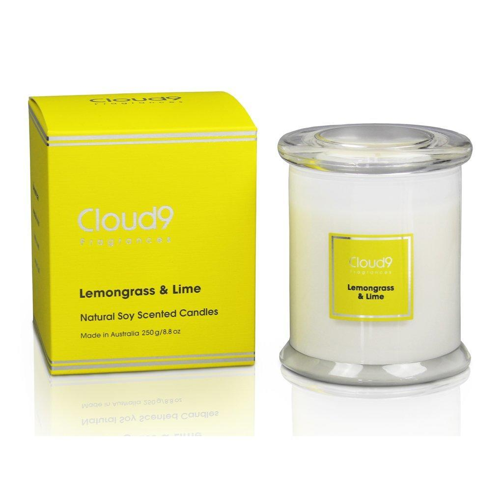 Lemongrass & Lime Jar Candle | Trada Marketplace