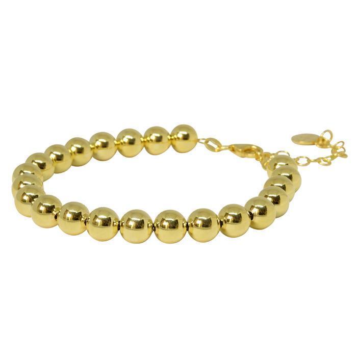8mm Ball Bracelet - Gold | Trada Marketplace