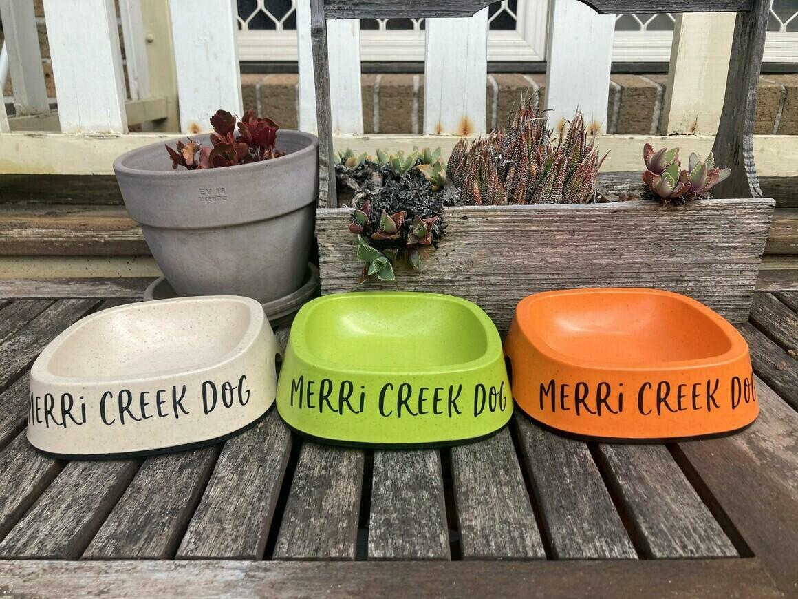 Merri Creek Dog Eco Friendly Dog Bowls   Trada Marketplace