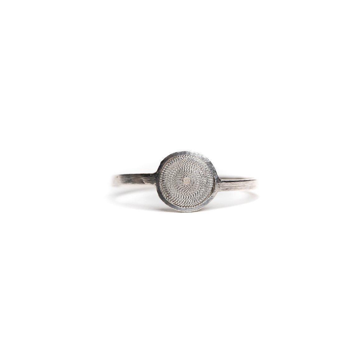 Disc Filigree Ring | Trada Marketplace