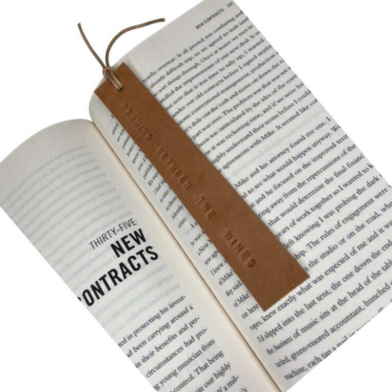 'READING BETWEEN THE WINES' bookmark | Trada Marketplace