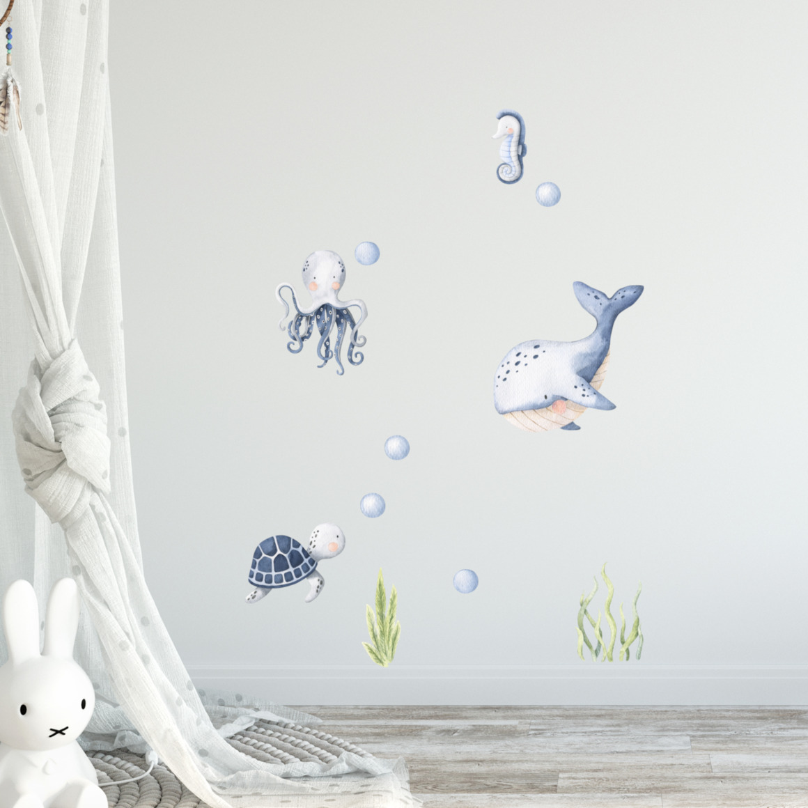 Fabric wall decals - Under the sea   Trada Marketplace