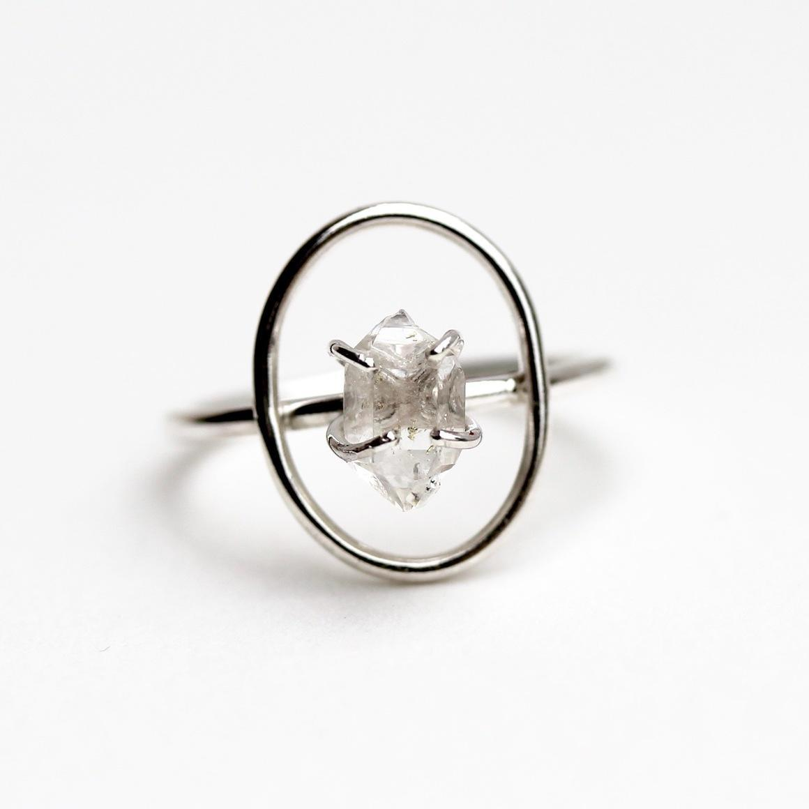 Halo Ring Sterling Silver | Trada Marketplace