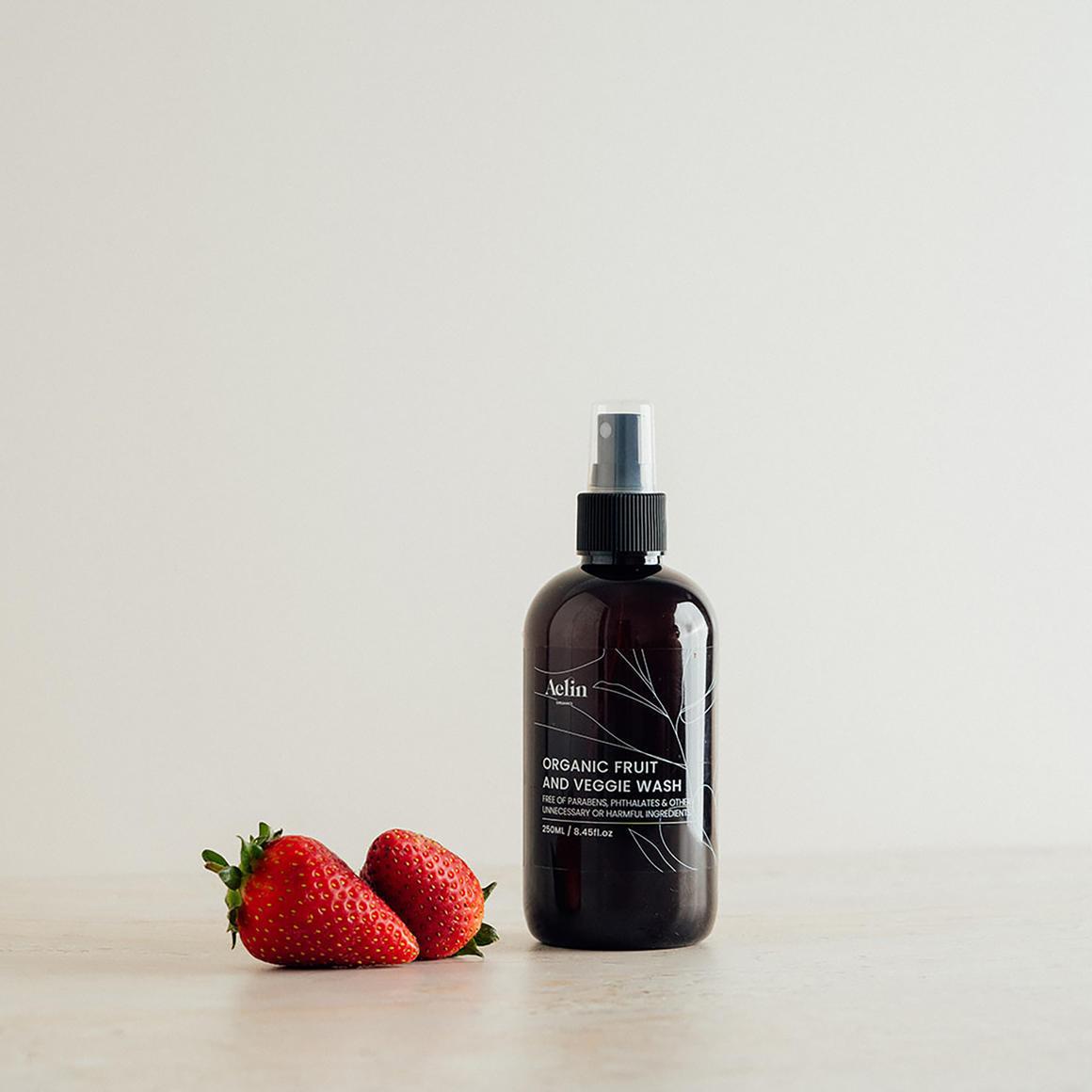 Certified Organic Fruit and Veggie Wash  -  250ml   Trada Marketplace