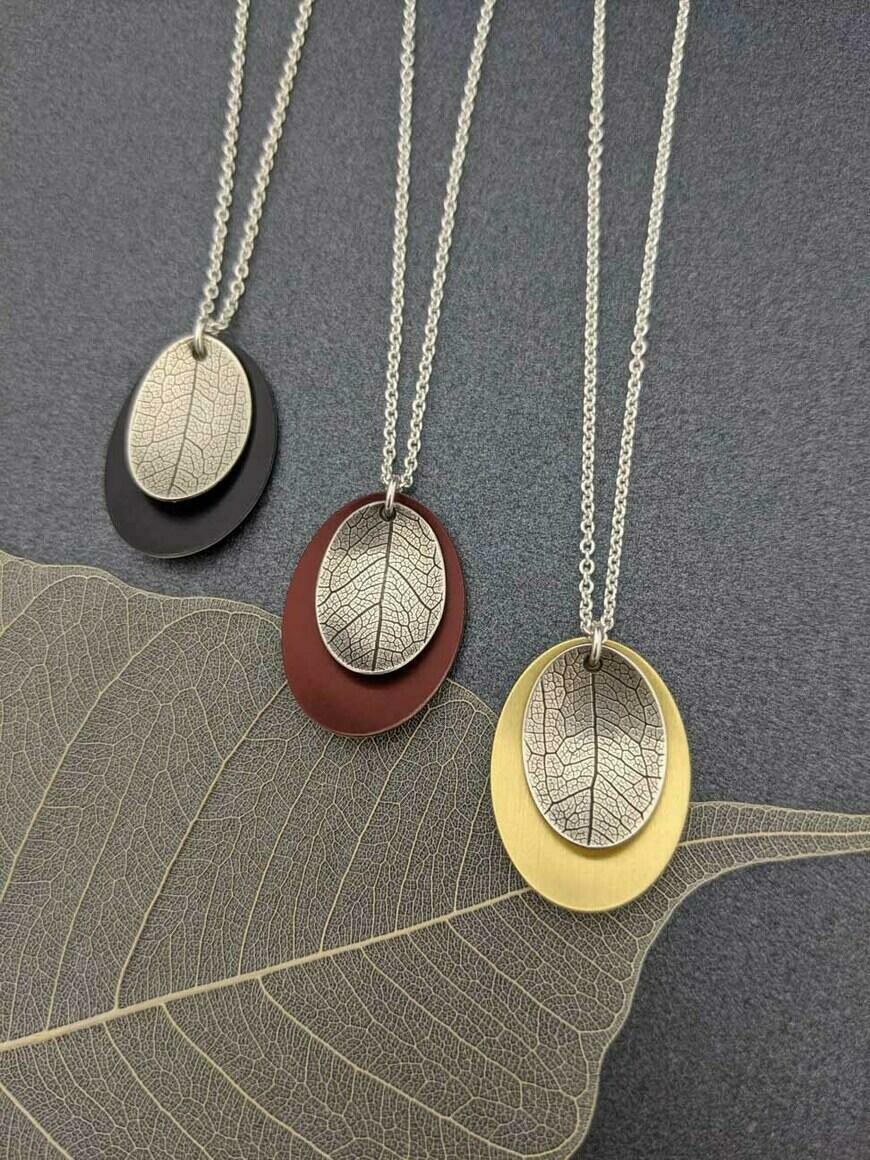 AUTUMN – small leaf necklace   Trada Marketplace