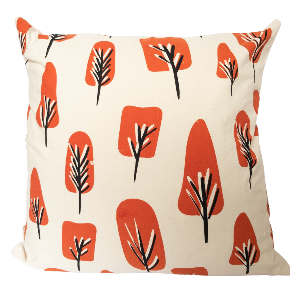 Abstract Tree Screen Printed, Hand Crafted Cushion- 3 colour ways-Cover Only | Trada Marketplace