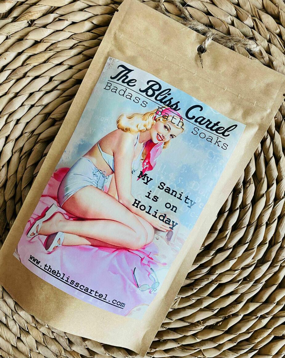 My Sanity is on holiday Bath Soak | Trada Marketplace