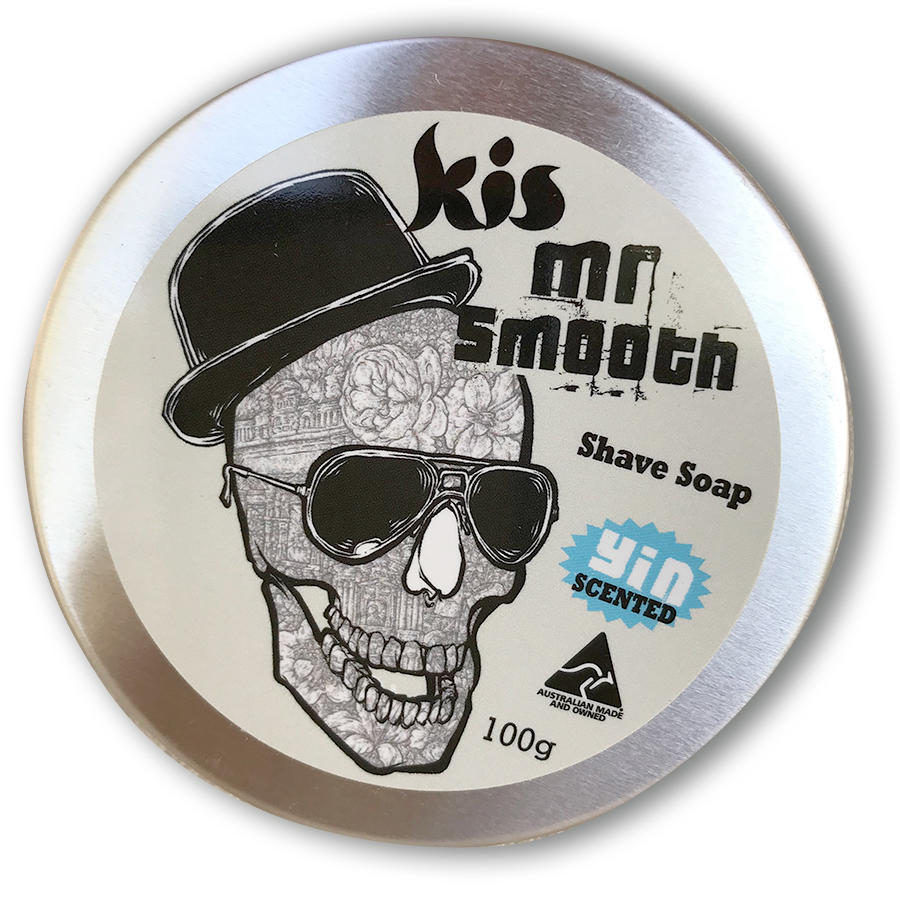 Mr Smooth Shave Soap Tin   Trada Marketplace