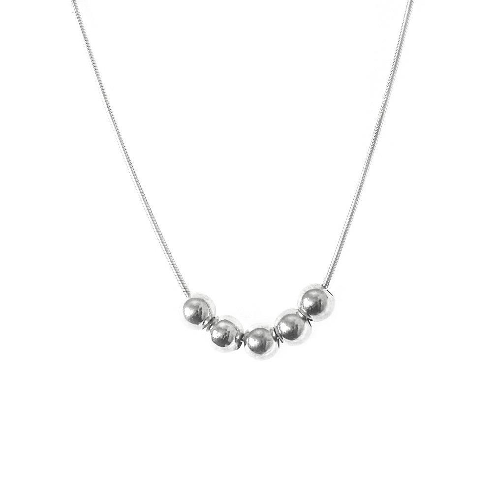 Small 5 Ball Necklace | Trada Marketplace