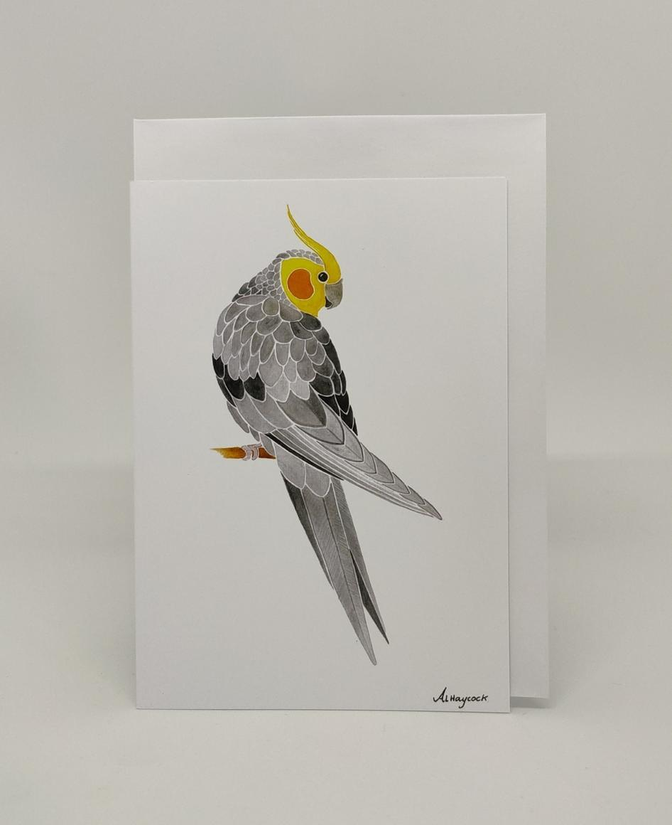 Cockatiel Card | Trada Marketplace