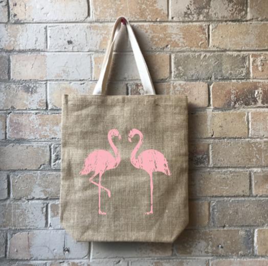 Flamingo Flair Junior Casual Shopper Pink   Trada Marketplace