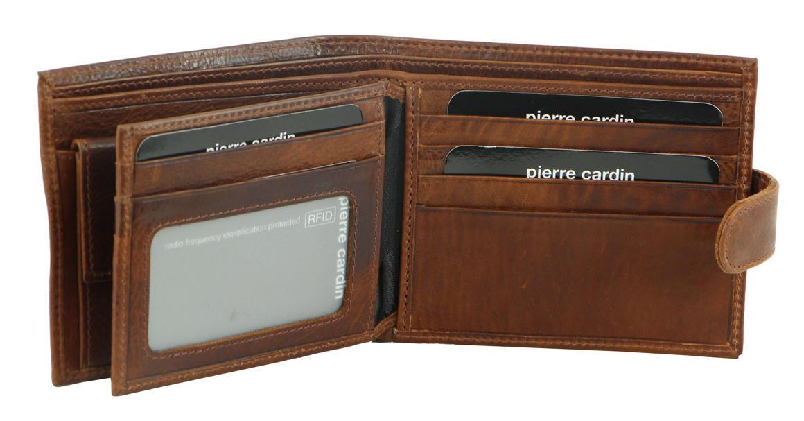 Pierre Cardin Italian Leather Mens Wallet/Card Holder   Trada Marketplace