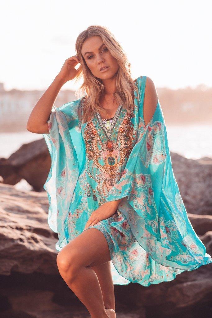 Feel the Sky Kaftan Dress | Trada Marketplace