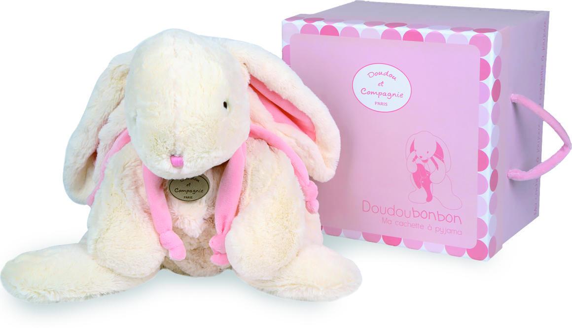 extra large pink rabbit + gift box 75cm   Trada Marketplace