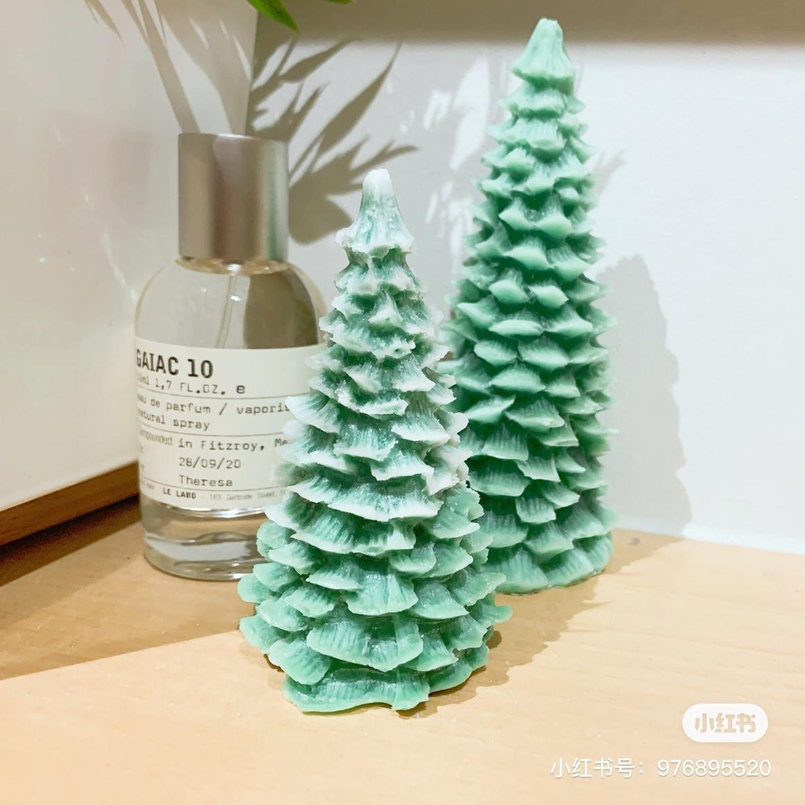 Christmas Tree Scented Candle| Small | Trada Marketplace