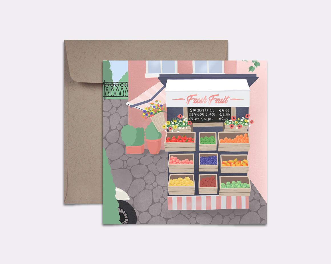 Fruit Stand Card | Trada Marketplace
