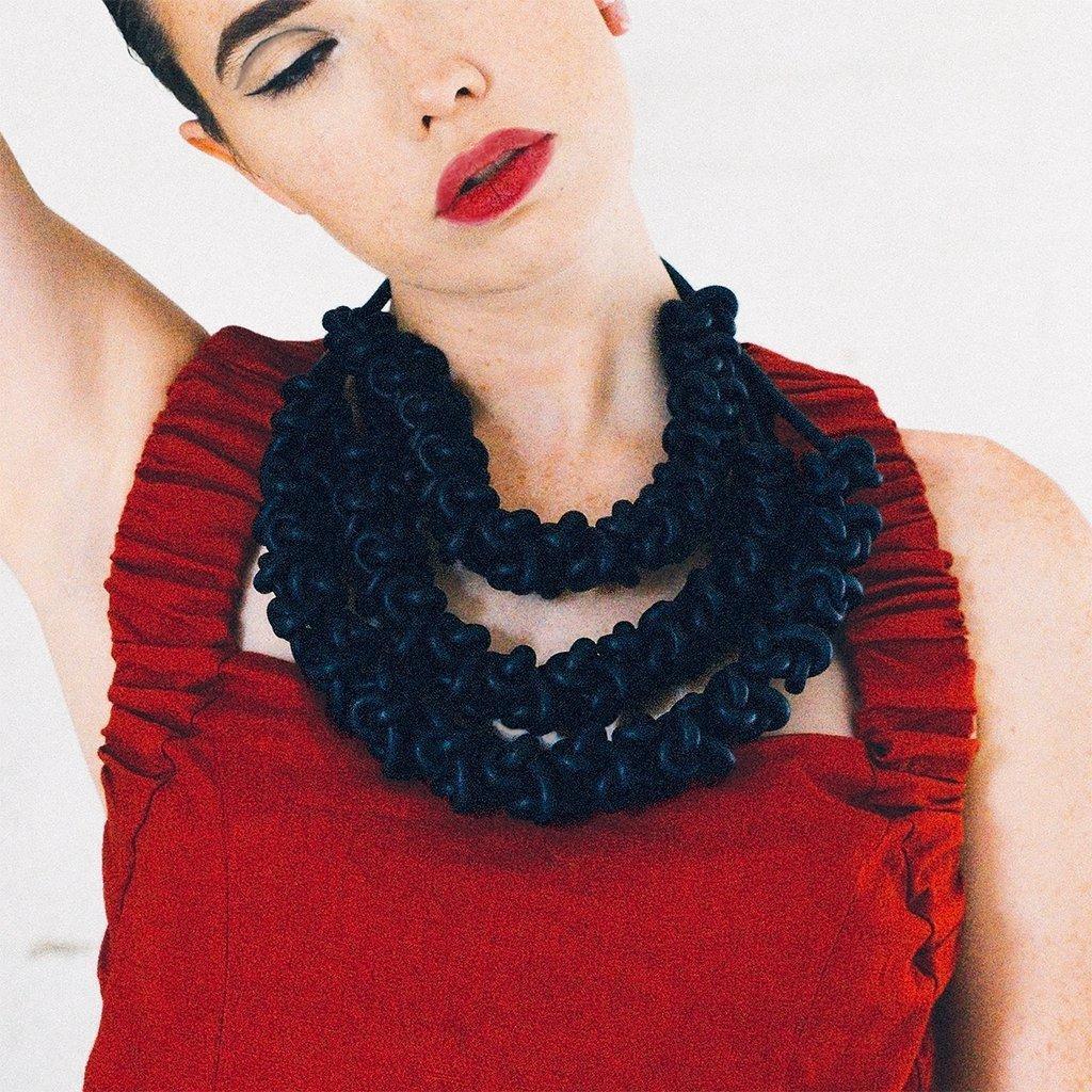 Black neckpieces   Trada Marketplace