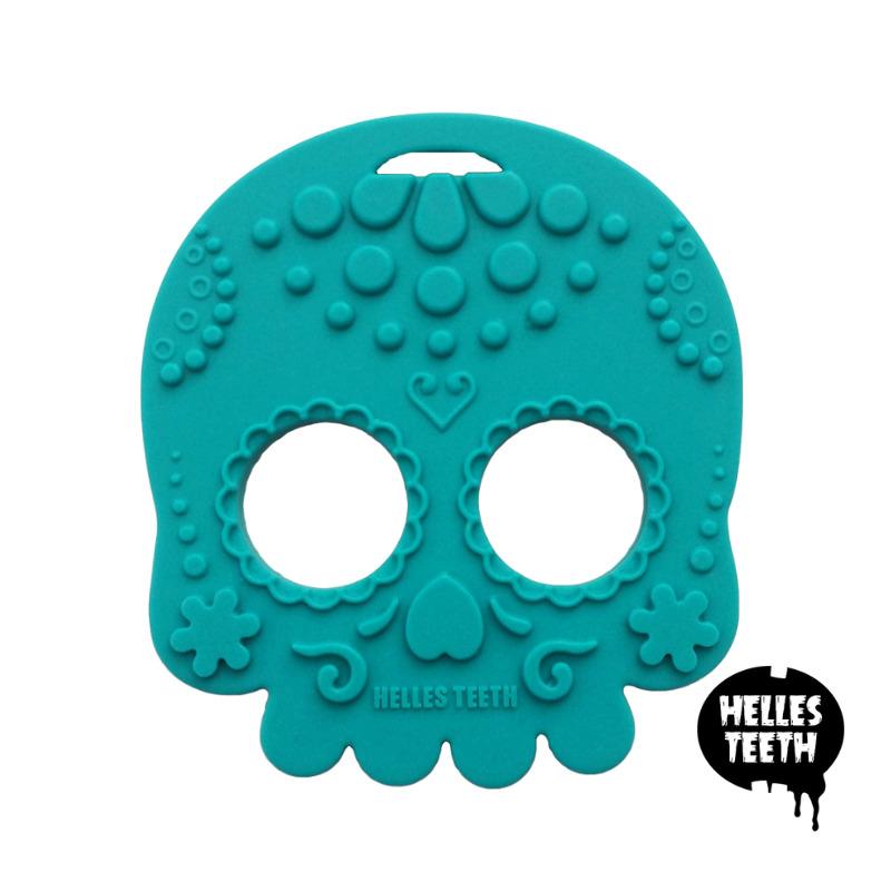 Sugar Skull Teal | Trada Marketplace