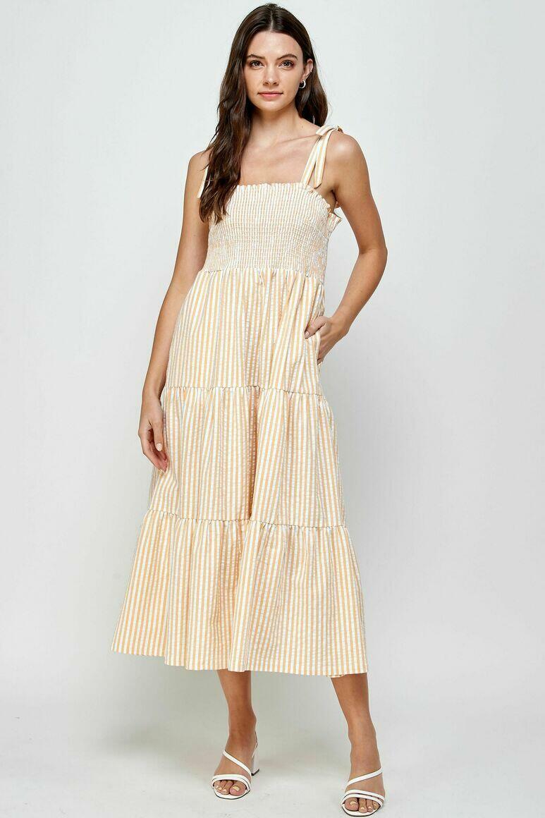 Dreamland Tiered Smocked Dress | Trada Marketplace