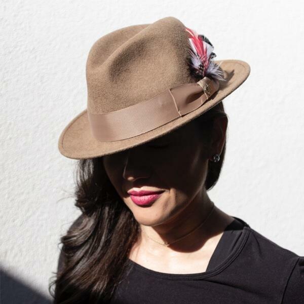 Unisex Trilby Hat | Trada Marketplace