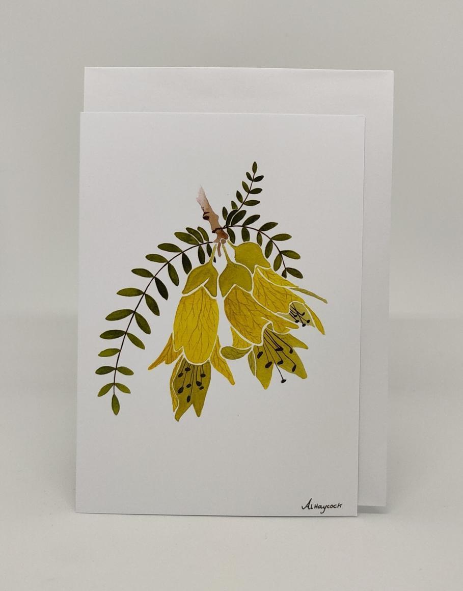 Kowhai Flower Cards | Trada Marketplace
