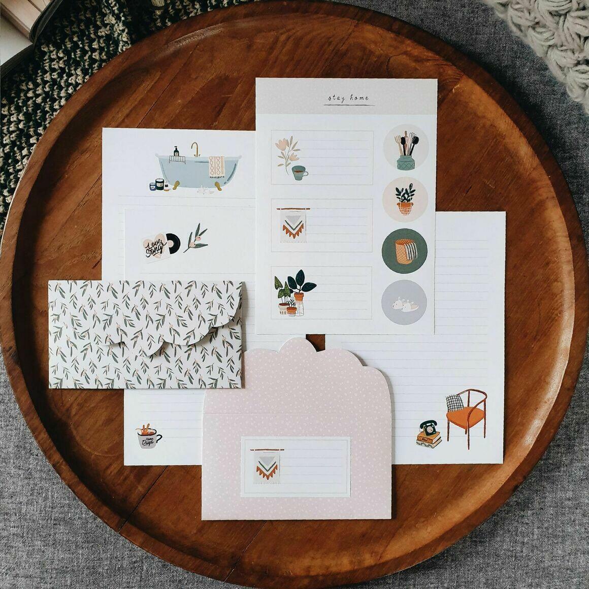 Home Letter Writing Set   Trada Marketplace