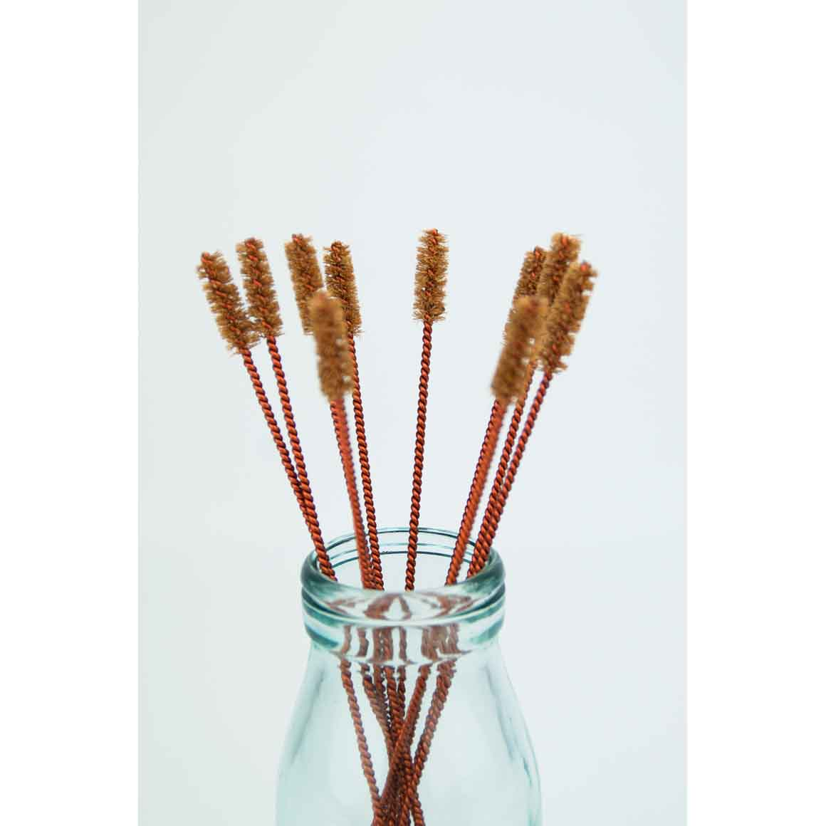 Coconut Straw Cleaning Brush Copper | Trada Marketplace