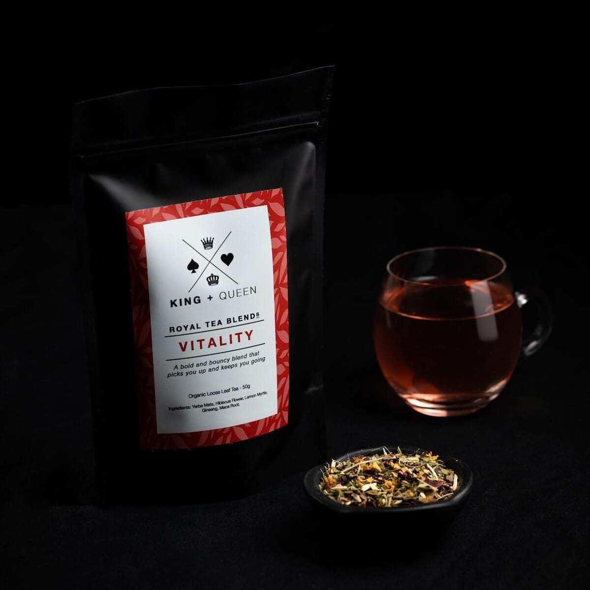 Vitality - Organic Energy Herbal Tea Blend   Trada Marketplace