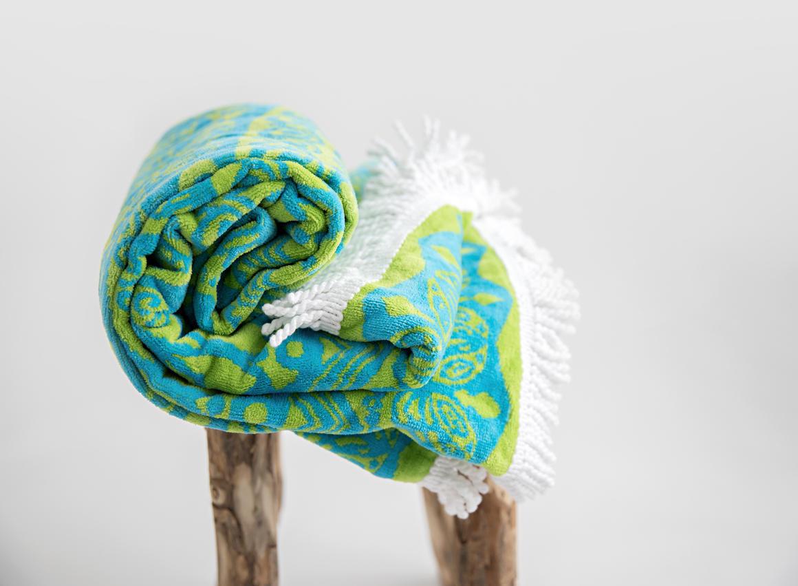 Ocean Earth Mandala towel   Trada Marketplace