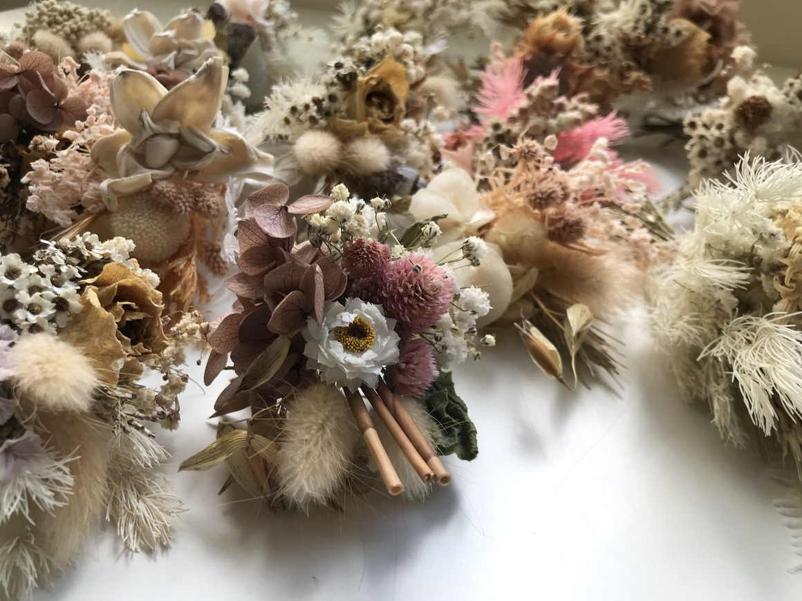 20 mini dried bouquets - 13cm - Choose your combo | Trada Marketplace