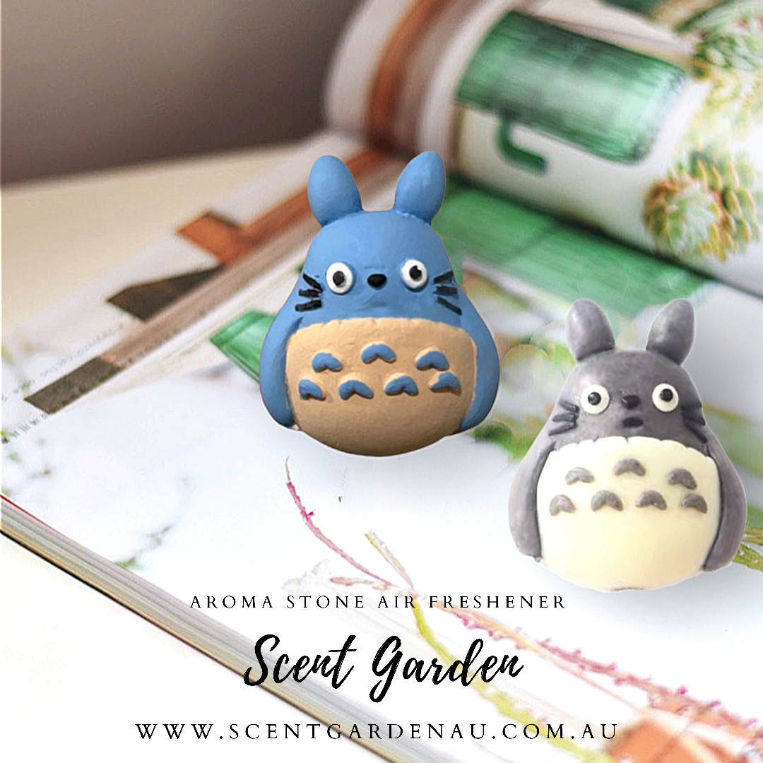 Aroma Stone Car Air Freshener ( Blue Totoro ) | Trada Marketplace