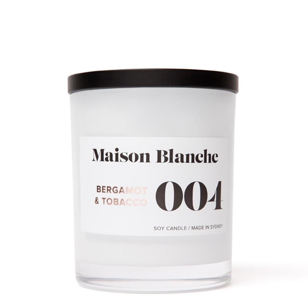 Bergamot & Tobacco / Large Candle | Trada Marketplace