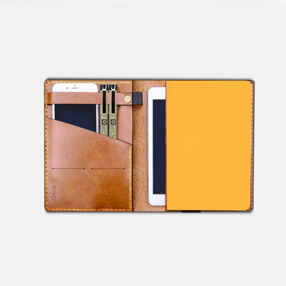 Dr. Peter's Notebook Cover - A5 Brown | Trada Marketplace