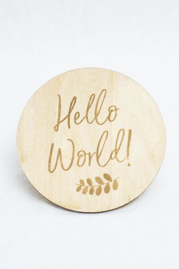 Hello World Milestone Disc   Trada Marketplace
