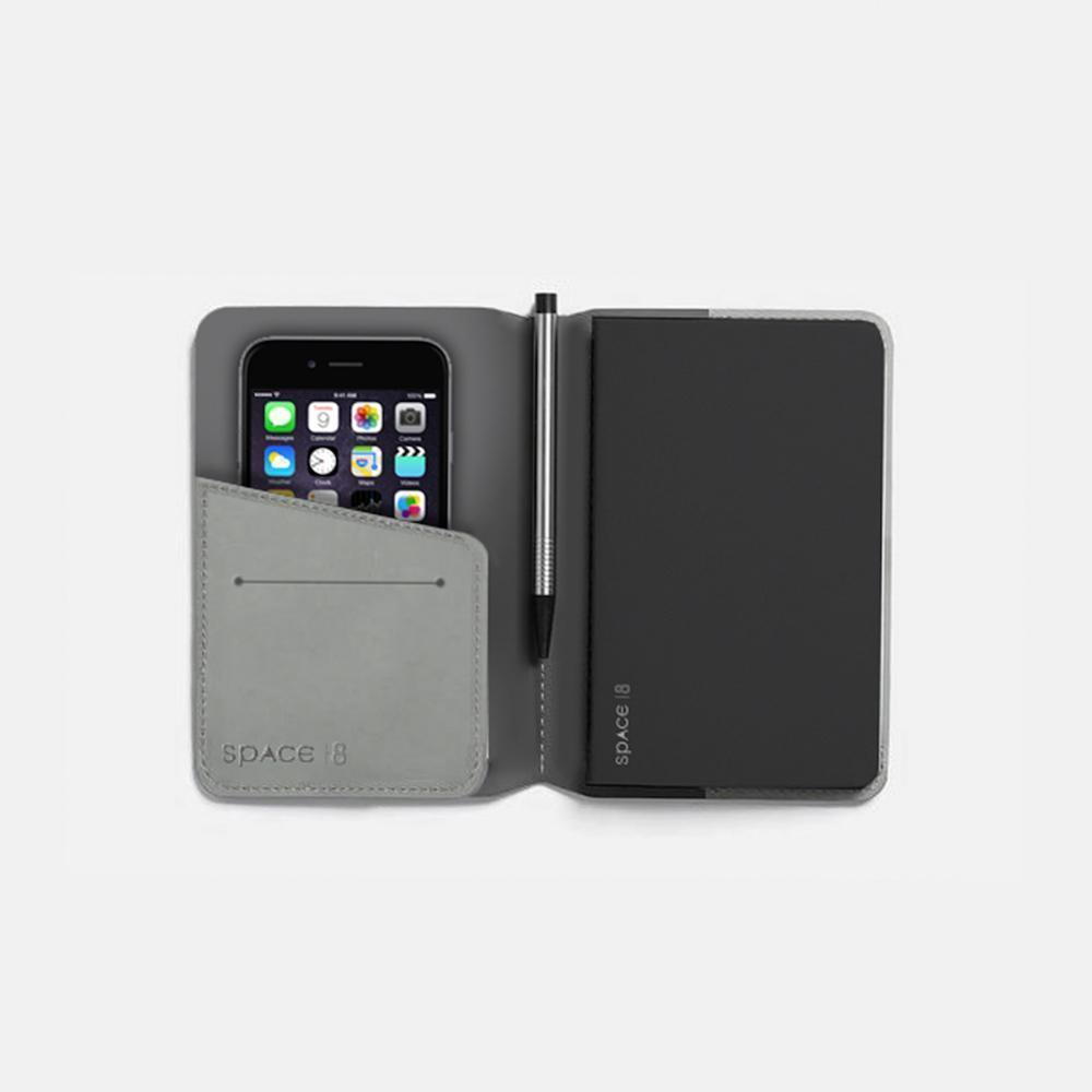 Dr. Peter's Notebook Cover - A6 Grey | Trada Marketplace