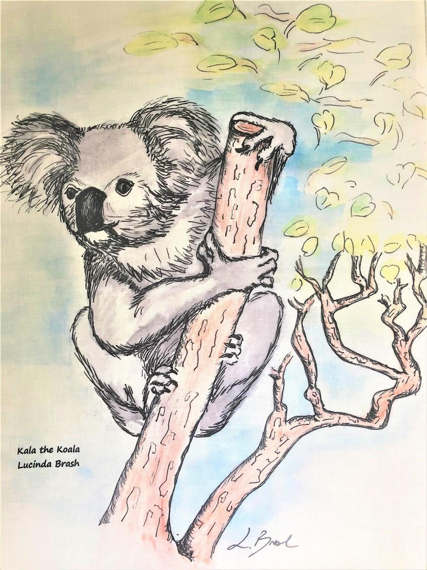 Tea Towel - Kala the Koala   Trada Marketplace