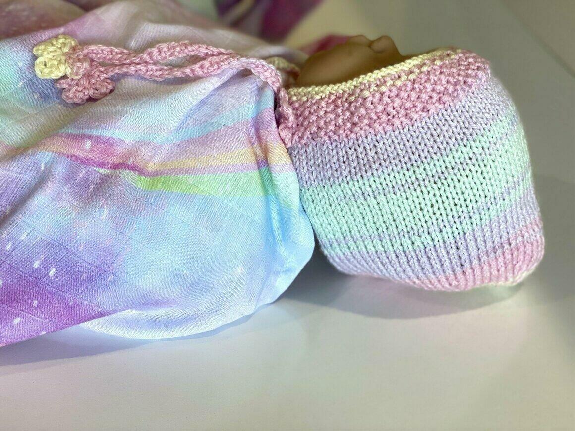 Stardust ~Handknitted Bonnet   Trada Marketplace